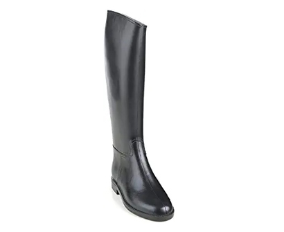 equistar ladies cadet flex ii rubber tall riding black boots