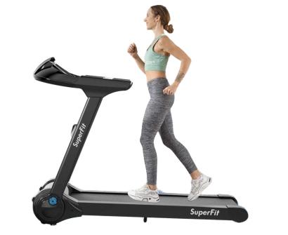 goplus 2.25hp large electric folding treadmill