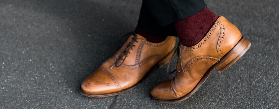 light brown saddle shoes