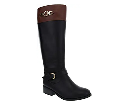 london fog women's irie riding boots