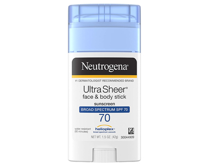 neutrogena ultra sheer non-greasy sunscreen stick