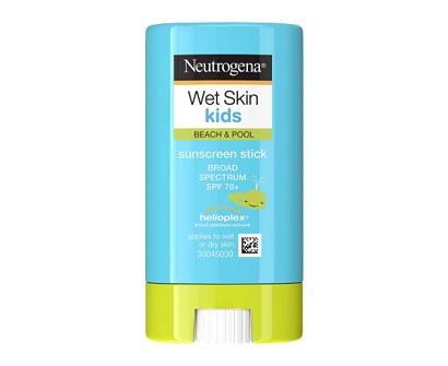 neutrogena wet skin kids water resistant sunscreen stick
