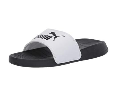puma kids' popcat slide sandal
