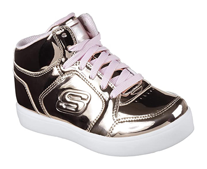 skechers kids' energy lights-dance-n-dazzle sneaker