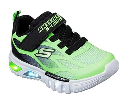 skechers kids flex-glow dezlo sneakers