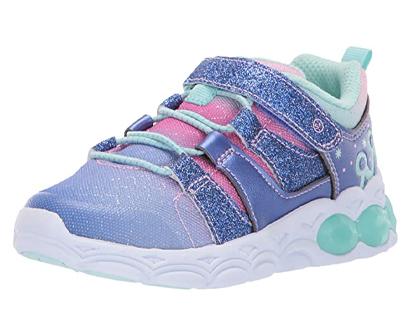 stride rite kid katie girl's light up athletic sneakers