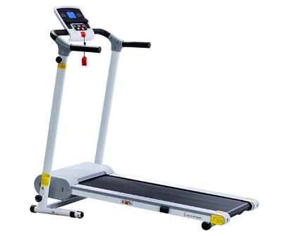 sunny health & fitness easy assembly motorized walking treadmill