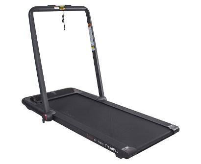 sunny health & fitness treadpad flat-folding treadmill