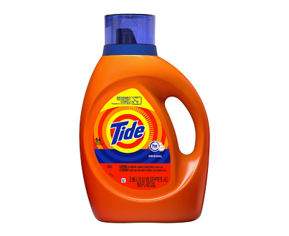 tide he turbo clean liquid detergent, 64 washes