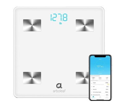 arboleaf digital bluetooth smart scale