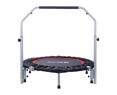 "bcan 40"" foldable & adjustable trampoline"