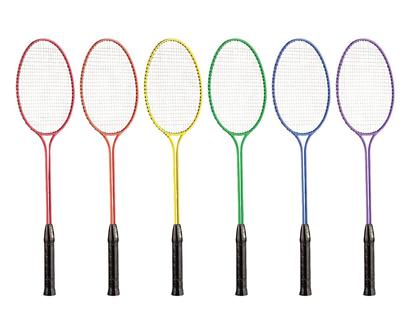 champion sports tempered steel twin shaft badminton rackets