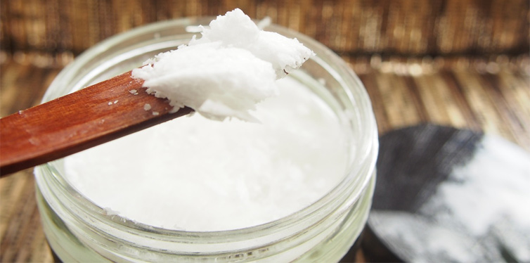 coconut oil to shine shoes