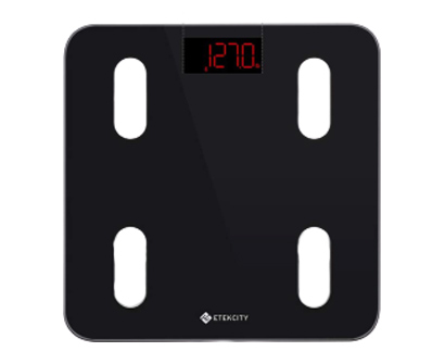 etekcity digital, smart bmi scale