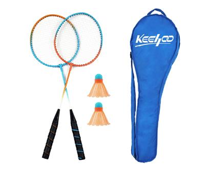 keehoo 2 player badminton rackets set