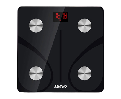 renpho bluetooth body fat smart bmi scale