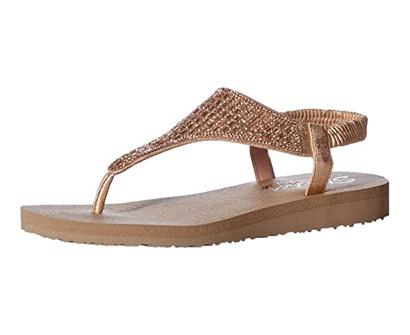 skechers cali meditation rock crown women's sandal