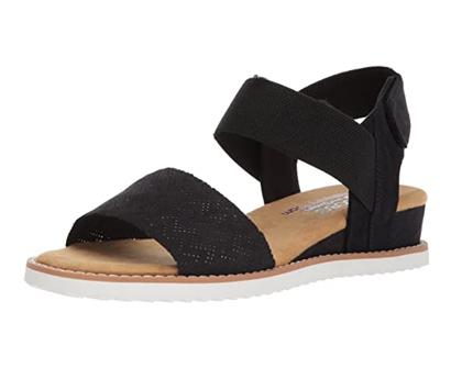 skechers women's desert kiss sandal
