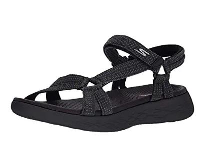 skechers women's on-the-go 600-brilliancy sport sandal