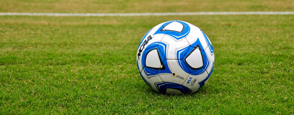 soccer ball on court