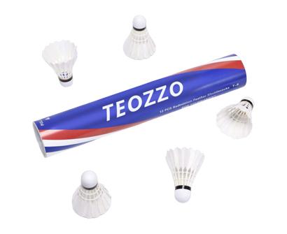 teozzo goose feather badminton shuttlecocks