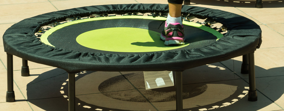 the best exercise trampoline
