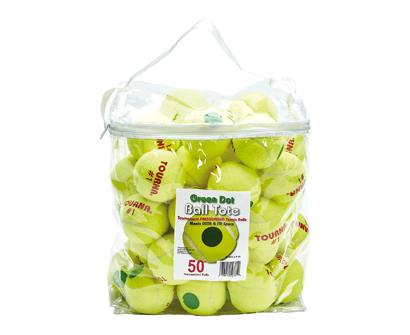 tourna pressurized green dot tennis balls