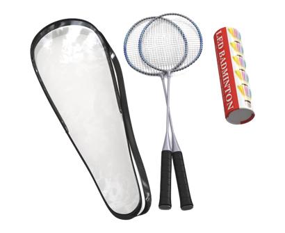 trained premium quality set of badminton racket