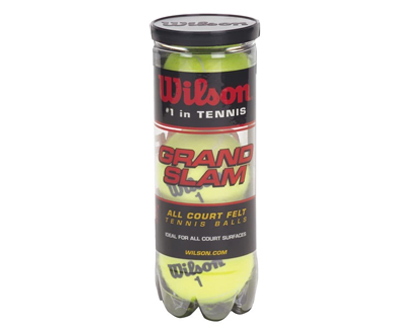 wilson grand slam extra duty tennis balls