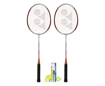 yonex b-350 badminton rackets combo set