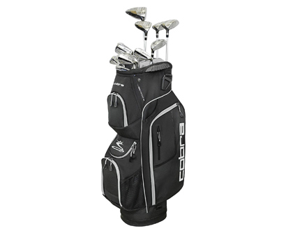 cobra golf 2019 men's xl speed complete golf clubs set