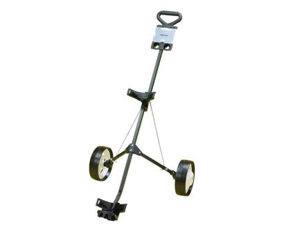 jef world of golf- deluxe steel push cart