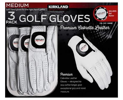 kirkland signature men's golf gloves