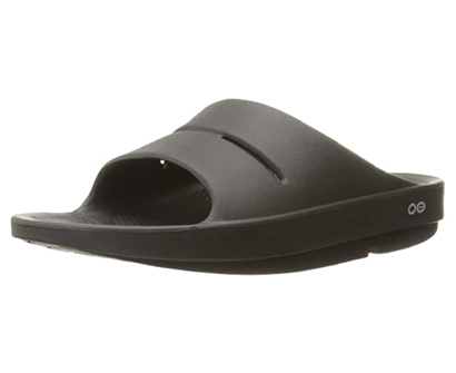oofos - unisex ooahh - post exercise active sports recovery slide sandal