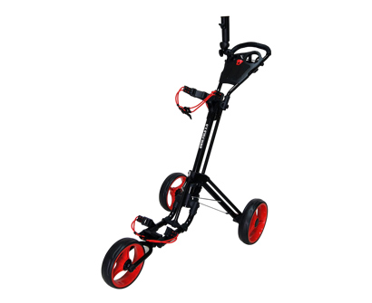 qwik-fold 3 wheel push pull golf cart