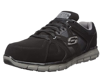 skechers for work men's synergy ekron work shoe