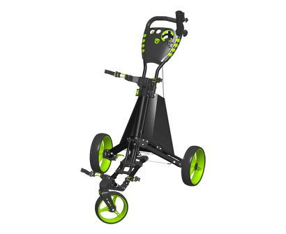 spin it golf- easy drive push cart