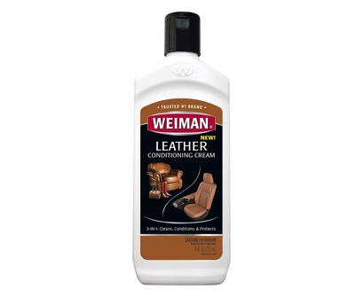 weiman 3 in 1 deep leather cleaner & conditioner cream