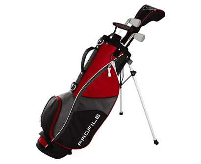 wilson juniors complete golf clubs set