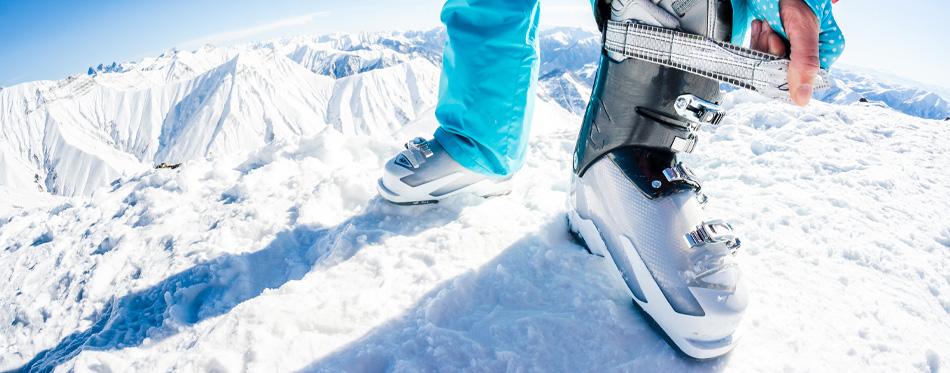 ski boots velcro