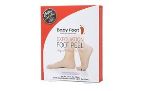 baby foot original exfoliant foot peel