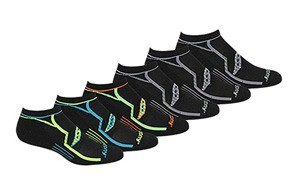 saucony men's multi-pack bolt athletic socks