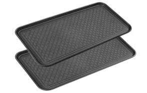 California Home Goods Multi-Purpose Boot Mat Tray