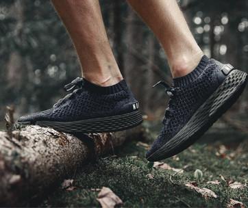 nobull black ivy knit runner