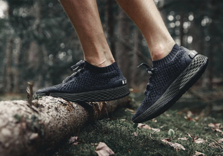 nobull black ivy knit runner