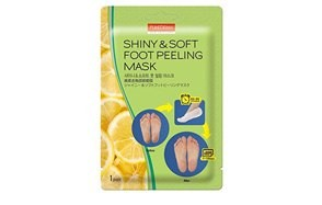 3 pair foot peeling mask set by purederm