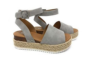 soda clip womens casual espadrille shoes