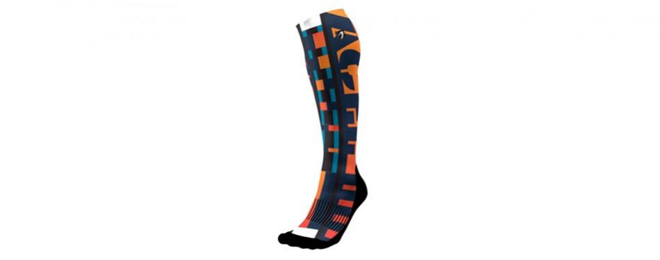 acel comfort in action designer compression socks