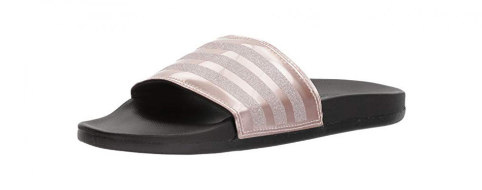 adidas adilette cf+ logo w slide sandal