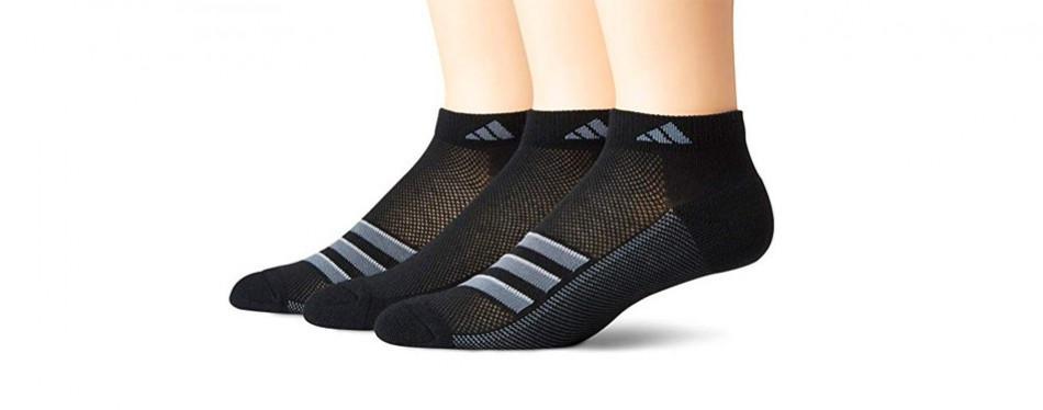 adidas men's climacool superlite low cut socks